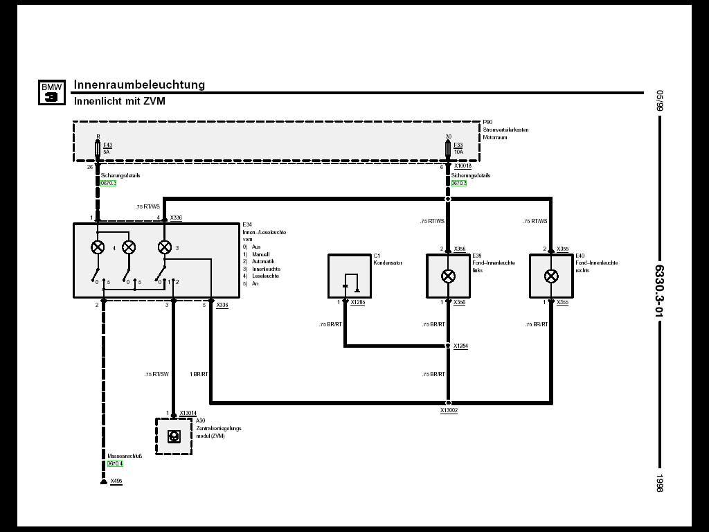 3er / 4er allg. E46 Innenbeleuchtung in E36 wie [Archiv] - BMW-Treff ...
